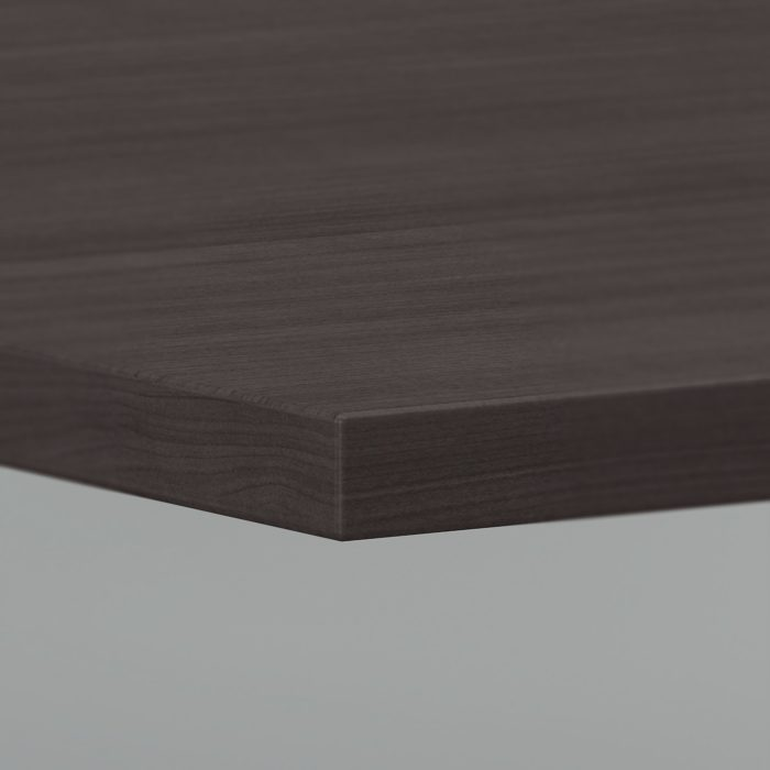 Bush Business Furniture 96W x 42D Boat Shaped Conference Table with Wood Base