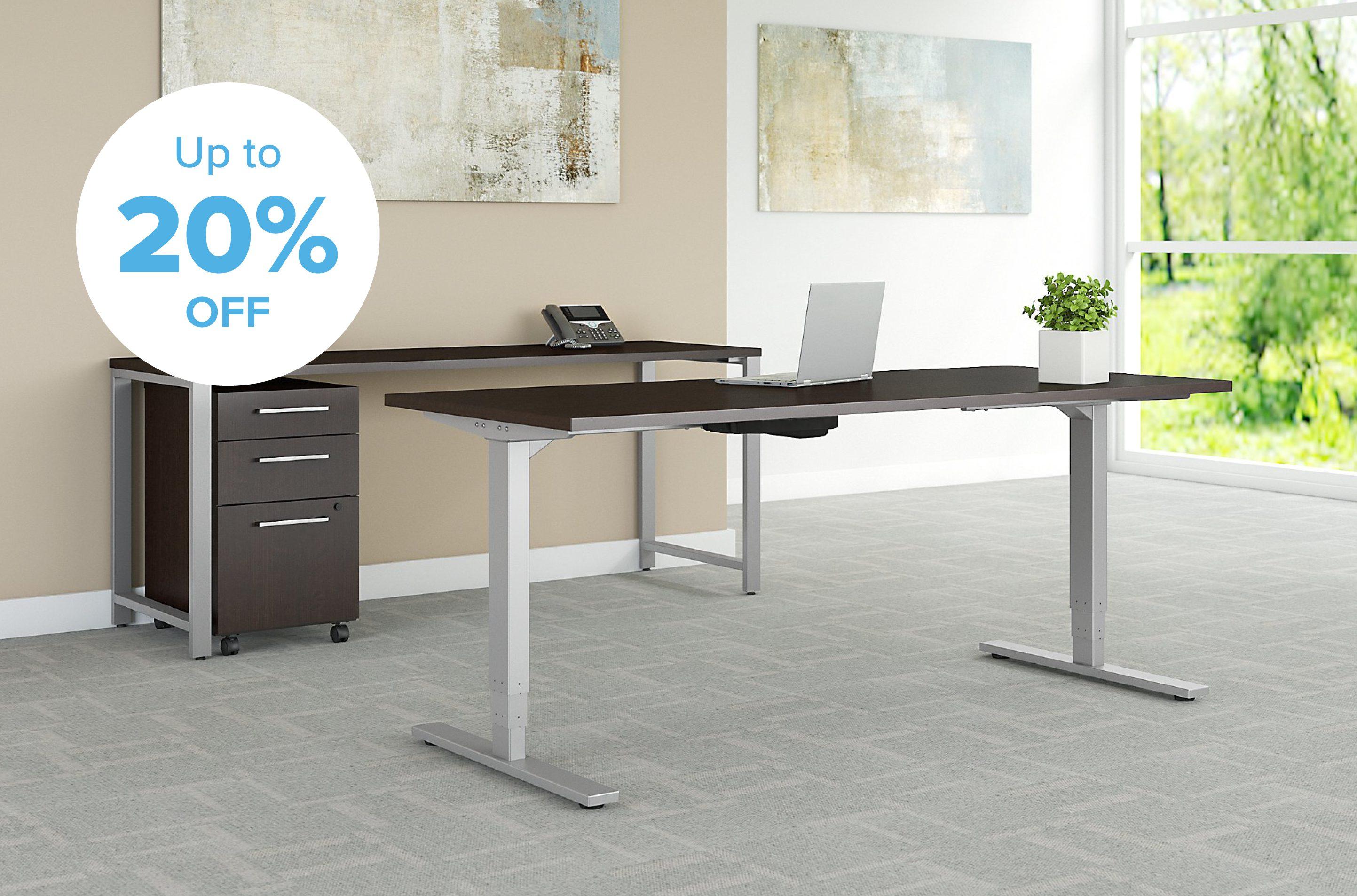 office furniture height adjustable desk